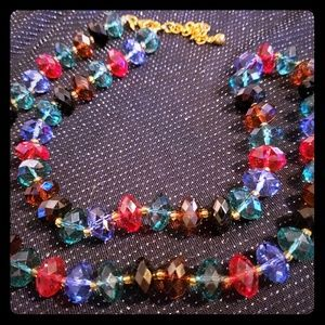 Joan Rivers Multi Color Beaded Necklace